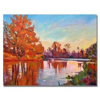 David Lloyd Glover 'Reflected Impressions' Canvas Art