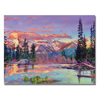 David Lloyd Glover 'Evening Serenity' Canvas Art