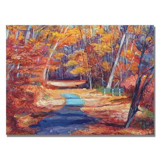 David Lloyd Glover 'The Resting Place' Canvas Art