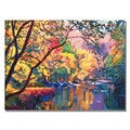 David Lloyd Glover 'Color Reflections' Canvas Art