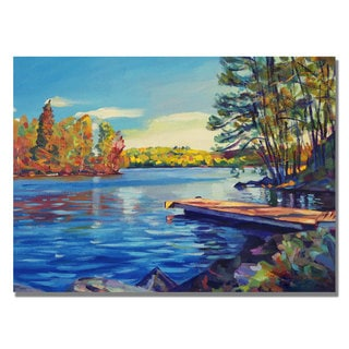 David Lloyd Glover 'End of Summer' Canvas Art