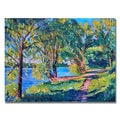 David Lloyd Glover 'Summers Lake' Canvas Art