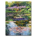David Lloyd Glover 'Giverny Reflections' Canvas Art