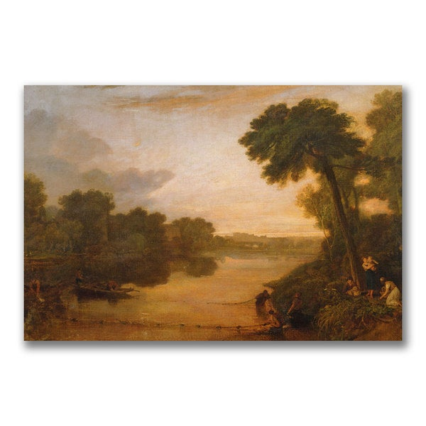 Joseph Turner 'The Thames near Windsor' Canvas Art