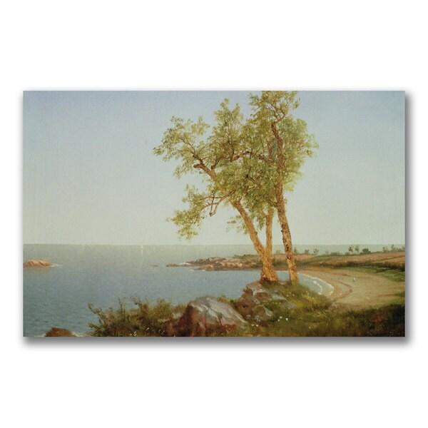 Samuel Colman 'New Hampshire Landscape' Canvas Art