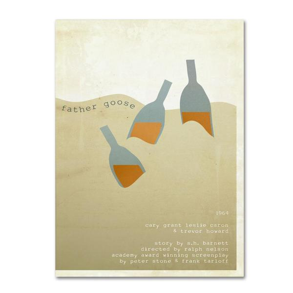 Megan Romo 'Father Goose' Canvas Art
