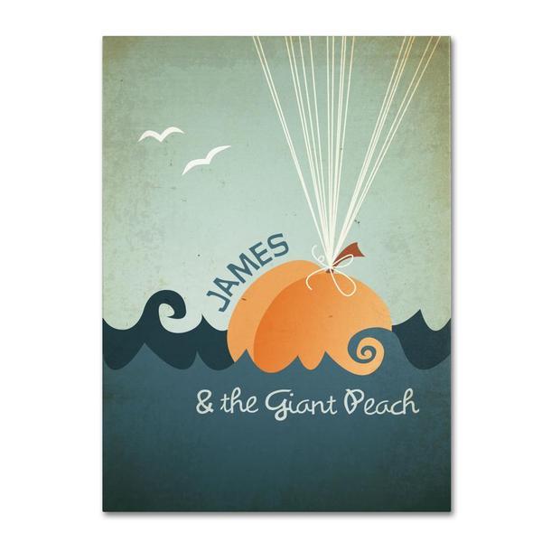 Megan Romo 'James and the Giant Peach' Canvas Art 11410102