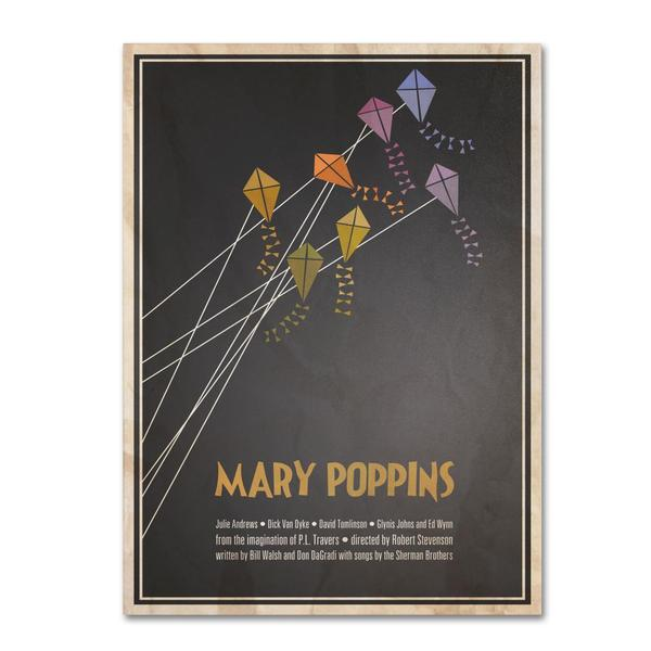 Megan Romo 'Mary Poppins' Canvas Art
