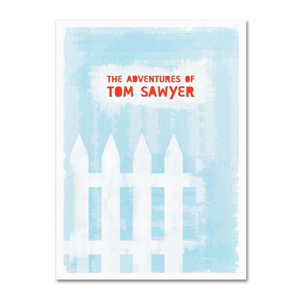 Megan Romo 'Tom Sawyer' Canvas Art
