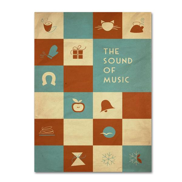 Megan Romo 'The Sound of Music' Canvas Art