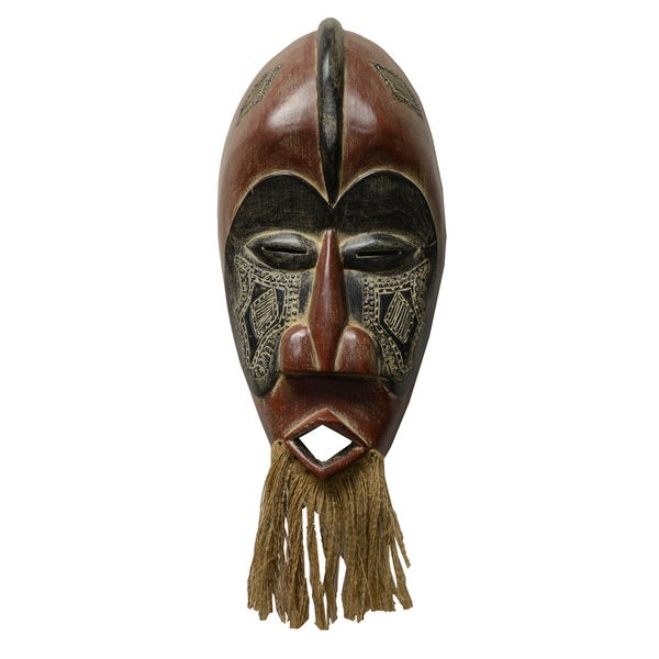Handmade Jungle Wall Mask (Ghana)