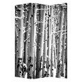 Birch 3-Panel Canvas Screen