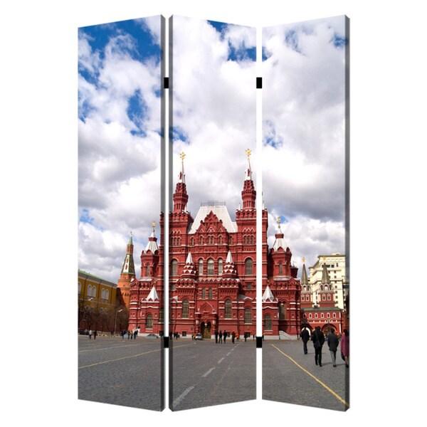 Russia 3-Panel Canvas Screen