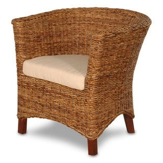 Astor Abaca Small U-Chair with Cushion