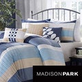 Deals on Madison Park Sheldon 7-piece Comforter Set