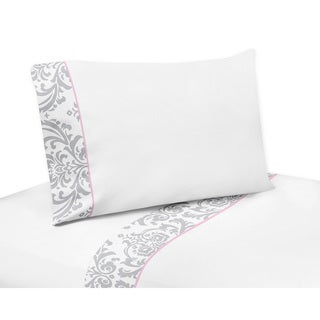 Sweet JoJo Designs 200 Thread Count Elizabeth Bedding Collection Sheet Set