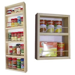 On The Wall Dual Depth Spice Rack (Set 33/14)