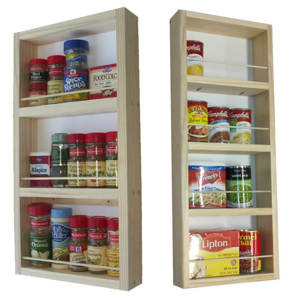 On the Wall Dual Depth Spice Rack (Set 28/21)