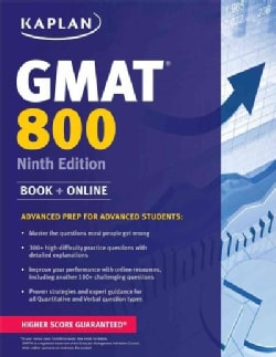Kaplan GMAT 800: Advanced Prep for Advanced Students (Paperback)