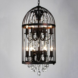 bird cage 12 light chandelier overstock shopping great. Black Bedroom Furniture Sets. Home Design Ideas