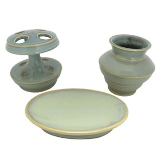 Sherry Kline Fremont Bath Accessory 3-piece Set
