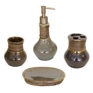 Sherry Kline Caraway 4-piece Bath Accessory Set
