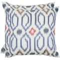 Safavieh Ashton 22-inch Navy Feather/ Down Decorative Pillows (Set of 2)