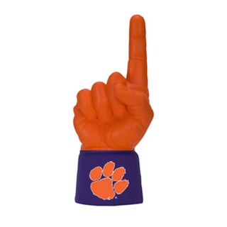 Licensed Logo Ultimate College Sports Jersey Sleeve Hand Foam Finger