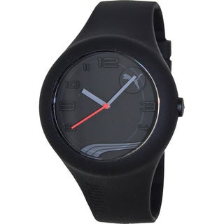 Puma Men's 'Form Xl' Black Silicone Strap Watch
