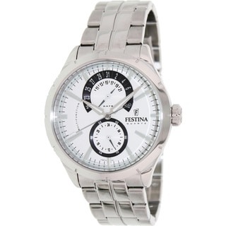 Festina Men's 'Retro' Stainless Steel Analog Watch