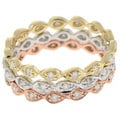 Beverly Hills Charm 14k Gold 1/5ct TDW Diamond Eternity Band (H-I, I1)