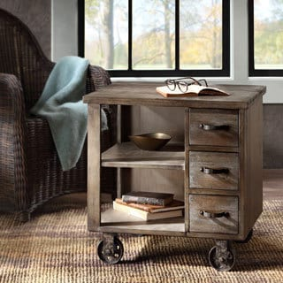 Renate CIRQUE Accent Table on Wheels