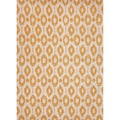 Hand-tufted Contemporary Geometric Pattern Yellow Rug (5' x 8')