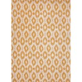 Hand-tufted Contemporary Geometric Pattern Yellow Rug (3'6 x 5'6)