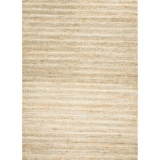 Hand-woven Naturals Stripe Pattern Brown Rug (3'6 x 5'6)