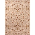 Hand-tufted Transitional Oriental Pattern Yellow Rug (9'6 x 13'6)