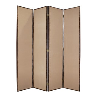 Valencia 4-Panel Fabric Screen (China)