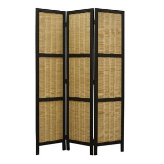 Hudson 3-Panel Wooden Screen (China)