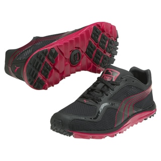 Puma Women' s Red/Black Faas Lite Mesh Spikeless Golf Shoes