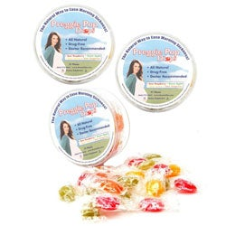 Three Lollies Sour Fruit Preggie Pop Drops (Pack of 3)