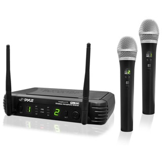 PylePro Professional Premier Series PDWM3375 Wireless Microphone Syst