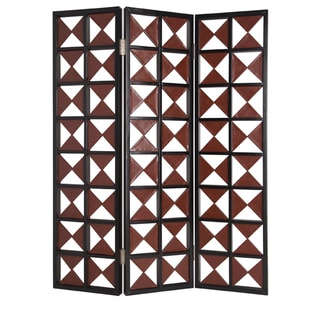 84-inch Navarro 3-Panel Wooden Screen (China)