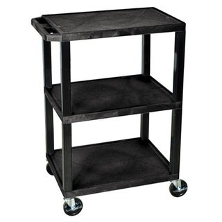 Black Utility Cart WT34S-B