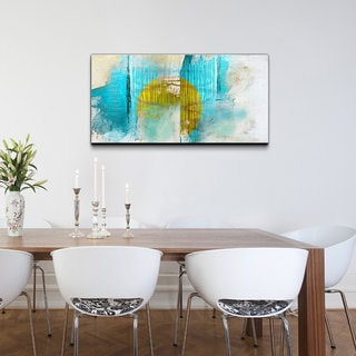 Bueno 'Abstract' Canvas Wall Art