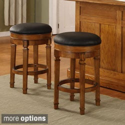 Whitaker Furniture Nova 30-inch Backless Barstool (Set of 2)