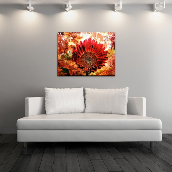 Other Artwork Alexis Bueno Daisy Flower Canvas Wall Art Was Lis