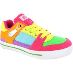Women's Gotta Flurt Break Down Neon Neon Canvas