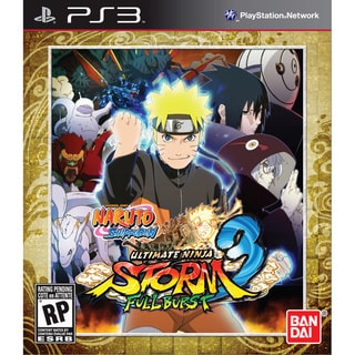 PS3 - Naruto Shippuden: Ultimate Storm 3 Full Burst