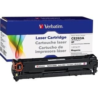 Verbatim HP CE263A Magenta Remanufactured Laser Toner Cartridge - TAA