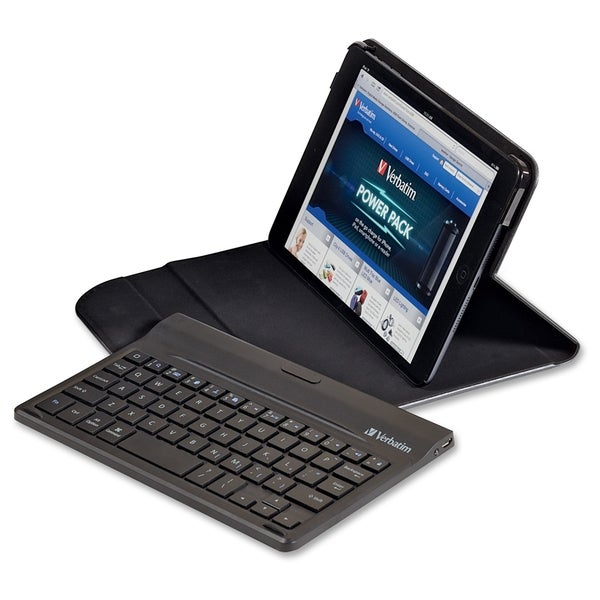 Verbatim Folio Mini Case with Keyboard for iPad mini and iPad mini wi